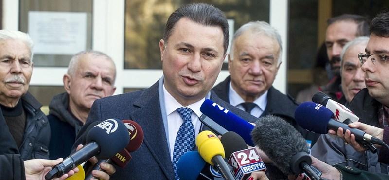 Szanyi Tibor az Európai Parlament állásfoglalását kéri a Gruevszki-ügyben