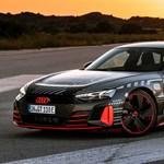 A valaha készült legerősebb széria Audi, íme az RS e-tron GT villanyautó