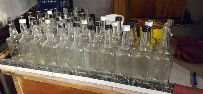 Interpolos akciókkal kapcsoltak le 7 ezer liter alkoholt