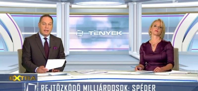Így gyártott Spéderről smárolós álriportot a TV2