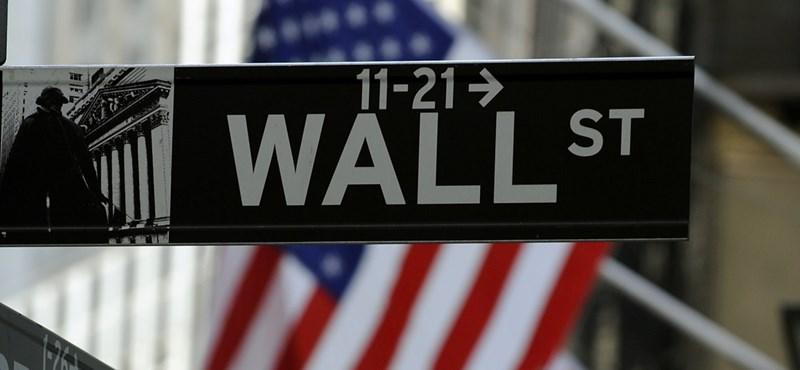 Rossz hét a New York-i tőzsdén – itt a korrekció?