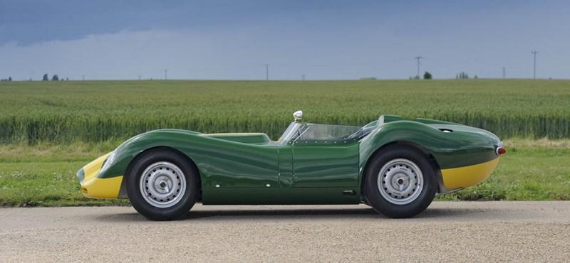 Újra legyártanak tíz darabot az egyik legszebb veterán Jaguar versenyautóból