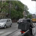 Videó: Ez most a legújabb pénznyelő kereszteződés Budapesten