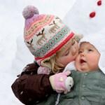 Hogyan óvjuk meg a babák bőrét a hidegben?