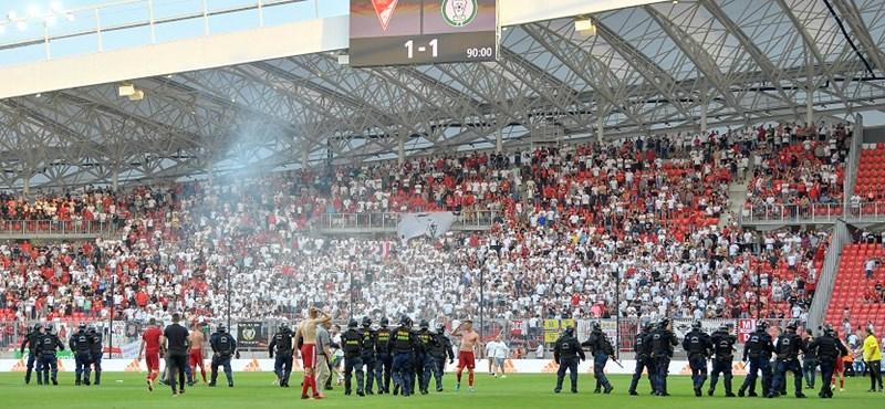 Hét gyanúsítottat hallgattak ki a Debrecen–Paks-meccs utáni balhé miatt