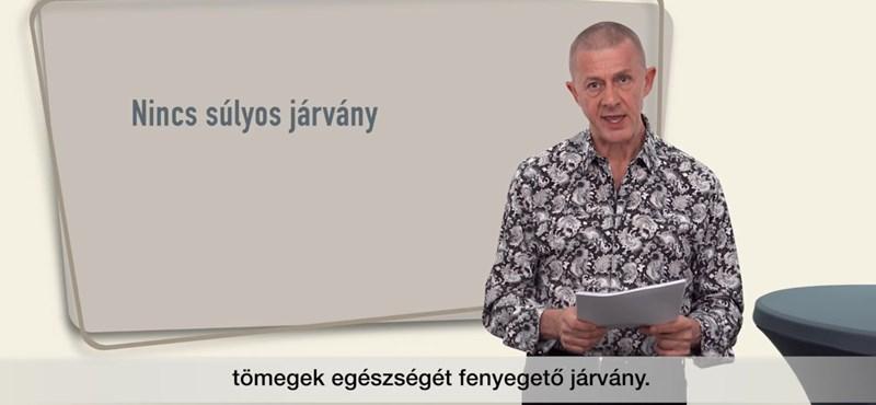 """""""Eltitkolt jó hírek"""" a koronavírusról – Lenkei doktor papíron és YouTube-on járna túl az őt törlő Facebook eszén"""