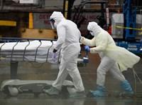 Már több mint egymillió halálos áldozata van a koronavírusnak