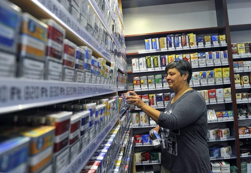 A dohányboltokban is megvolt a vásárlási pánik