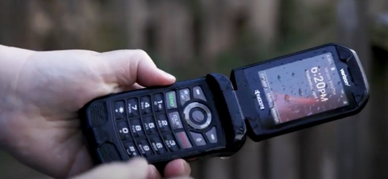 Járvány idejére: itt a Kyocera alkoholálló telefonja