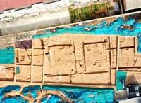 Kína legrégebbi ismert palotáját fedezték fel egy 5300 éves ősi város romjai közt