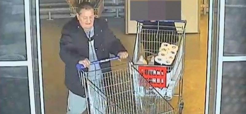 Bevásárlókocsival lopott mobilt a nyíregyházi férfi