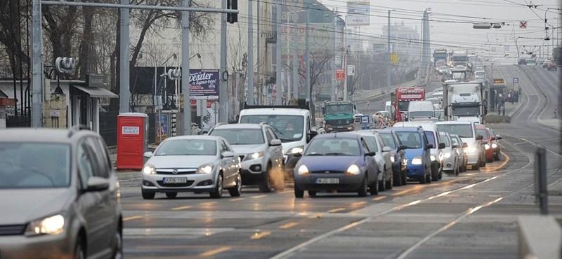 Ideges a budapesti dugók miatt? Pedig nem itt a legrosszabb a helyzet az országban