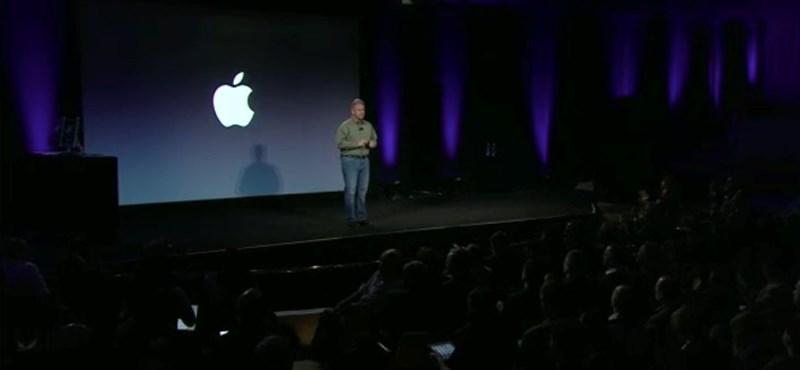 Megnézhető az Apple tegnapi bejelentése videón
