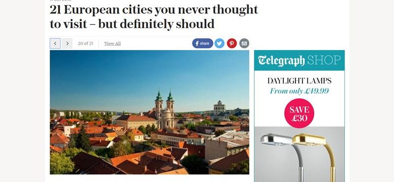 Meglepő, melyik magyar várost ajánlják mellőzött úti célként