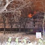 Kollégium gyulladt ki a IX. kerületben, egy ember meghalt
