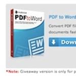 PDF-ből Word dokumentum, ingyenes teljes verzióval