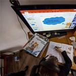 """Digitális oktatás második felvonás: ilyen a """"zoombi-land"""""""