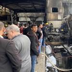Két mozdonyvezető verekedése okozta a halálos kairói vonatkatasztrófát