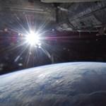 Egyedülálló kép: így néz ki a napkelte az űrből