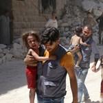Százezrek halhatnak szomjan Aleppóban