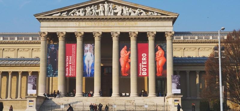 Hadrianus császár mellszobrát találták meg véletlenül a Szépművészeti Múzeumban