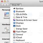 OS X mini tipp: extra lista a System Preferencesben