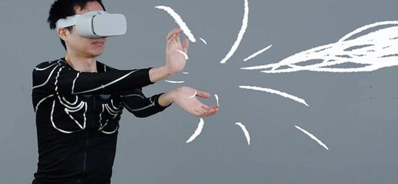 Van olyan trikó, ami figyeli teste mozgását és így irányíthatja a játékbéli karakterét