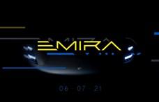 Lotus Emira néven hagyományos sportkocsit dob piacra a brit cég, mielőtt áttér az elektromos hajtásra