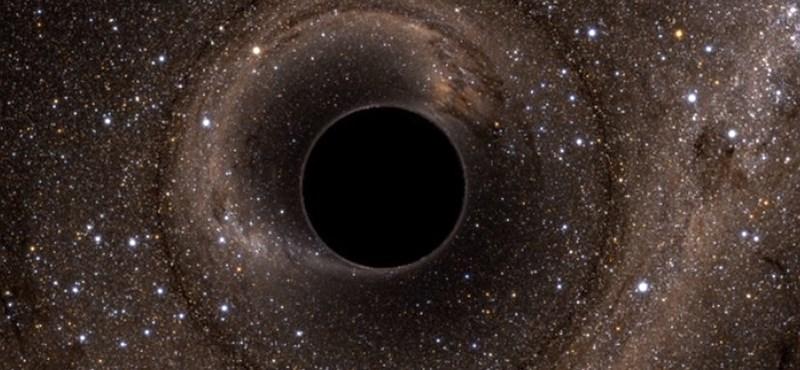 Találtak egy fekete lyukat, ami 100 000-szer nagyobb tömegű, mint a Nap