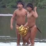 Először lépett kapcsolatba a külvilággal egy elszigetelt törzs - videó