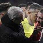 A pályán hagyta a fogait az Atlético védője