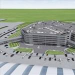 Hatszintes parkolóház épül a Liszt Ferenc Nemzetközi Repülőtér 2-es terminálja előtt