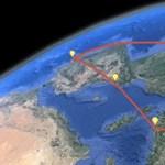 Érdekes és látványos újdonság a Google Earthben