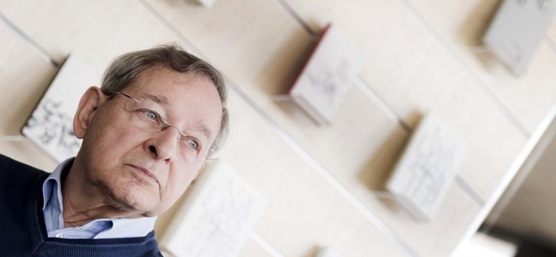Nádas Péter a HVG-nek: Ez Orbán nagy történelmi tévedése