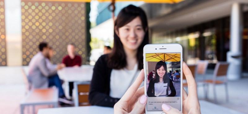 A mesterséges intelligencia meg tudja súgni a gyengén látóknak, hogy mi vagy ki van előttük