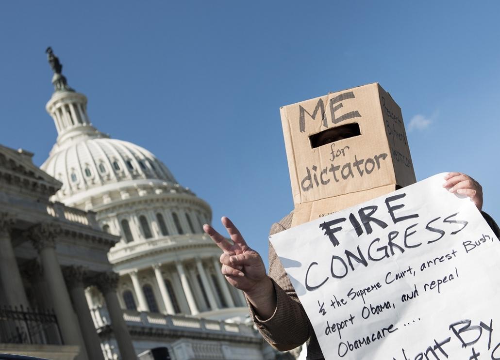 hét képei - Amerikai költségvetési vita, Washington, október 1.