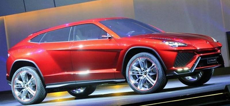 Huracan-áron érkezik majd a Lamborghini szabadidőautója