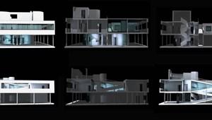 CAD Párbaj a Villa Savoye körül