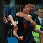Anglia - Horvátország: 1-2, hosszabbítás után