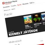 Már 50 000 alkalmazásnál tart a Windows Phone Marketplace