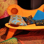 Cseppnyi Afrika a lakásunkban - egzotikus bútorok olasz tervezőktől
