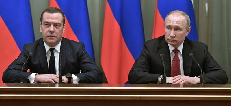 Beindult a nagy hatalmi játszma – ezért mondhatott le az orosz kormány