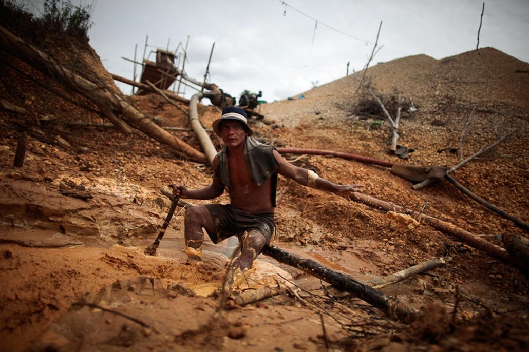 Aranybányászat Chillében