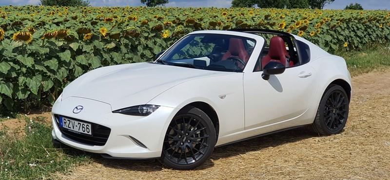 Szinte Matchbox: teszten a Mazda MX-5 RF Takumi
