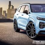 X-Tomi megint alkotott: parádés lenne ez a Hyundai Santa Fe