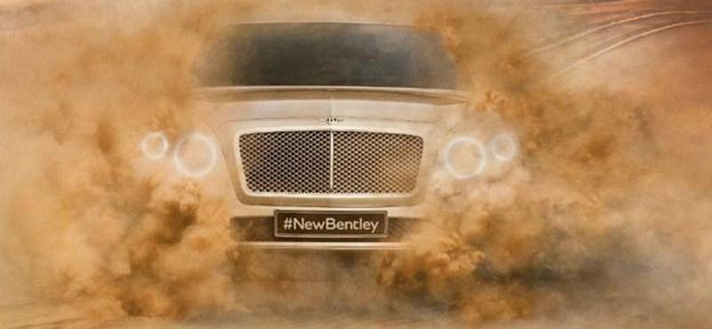Bentley Bentayga: ez lesz a neve az arisztokrata terepjárónak