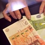 Újra 326 forint egy euró