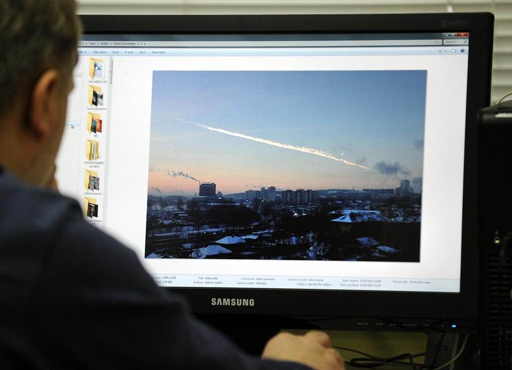 orosz meteor 2012.02.15., RUSSIAN FEDERATION, Chelyabinsk