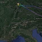 Visszafordult a Lufthansa gépe csütörtökön, miután kiderült, hogy lelőtték az ukrán gépet