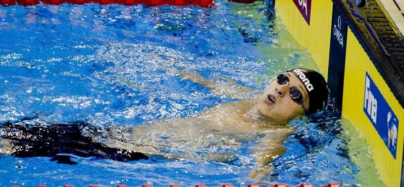 Verrasztó hatodik lett a 400 m vegyes döntőjében
